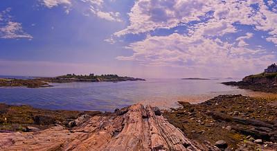Land's End, Bailey Island, Maine Panorama