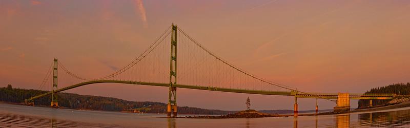 Deer Isle Bridge Panorama 1