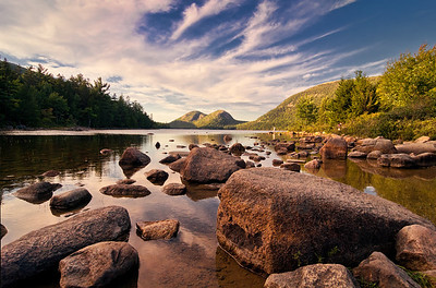 Jordan Pond Rocks 9763