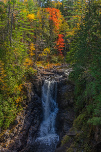 Moxie Falls View 1, Northern Maine