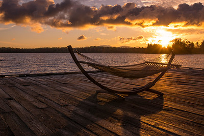 Relaxation at Wilson's on Moosehead Lake, Maine