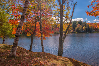 The Colors of Fall, Moosehead Lake, Maine
