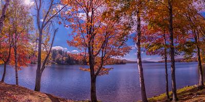 The Colors of Fall, Moosehead Lake Panorama, Maine