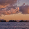 Moosehead Lake Morning Cloudscape, Maine