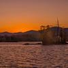 Golden Sunset, Moosehead Lake, Maine