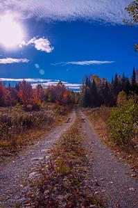 Misery Gore Road, Moosehead Lake area, Maine