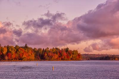 Moosehead Lake Morning Cloudscape 5, Maine