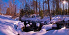 Willett Brook, Bridgton, Maine, 6 image panorama.