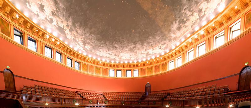Lovely Lane Methodist Church, Baltimore, MD.  54 image panoramic photo.