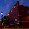 Portland Museum of Art at twilight<br /> Designed by I.M. Pei