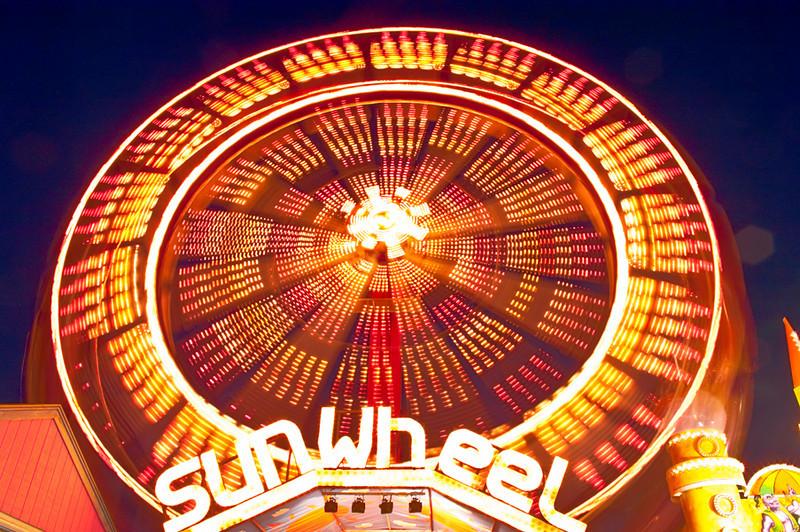 The Old Orchard Beach Sun Wheel.
