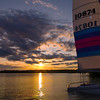 Catamarran Sunset 2<br /> Sebago Lake.