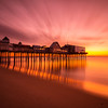 Old Orchard Beach--a 5 minute neutral density filter exposure.