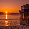 Nested Sunrise, Old Orchard Beach, Maine
