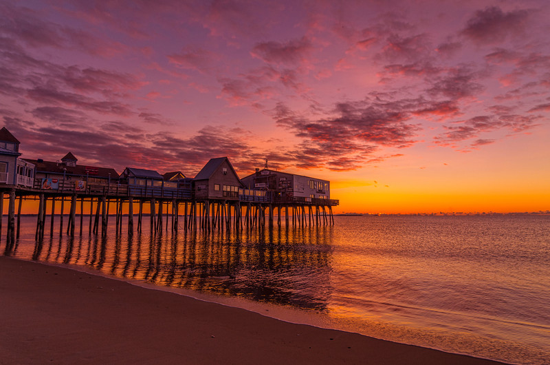 Old Orchard Beach October Sunrise