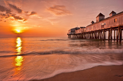 March Sunrise, Old Orchard Beach, Maine