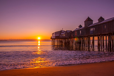 Late December Sunrise, Old Orchard Beach, Maine 2