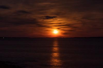 Full Moonrise, Pemaquid Point, Bristol, Maine
