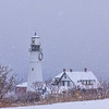 Snowstorm at Portland Head Light 2, Cape Elizabeth, ME
