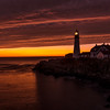 Majestic Pre-Dawn Light, Portland Head Light, Cape Elizabeth, ME