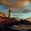 Dawn on Portland Headlight--Taken after a night of intense rain, the sky was particularly lush. This photo was published in English magazine, Digital Camera, in the Hotshots category, December 2007, and in Portland Magazine's August 2008 issue.