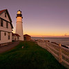 October Panorama of Portland Head Light.  15 images.