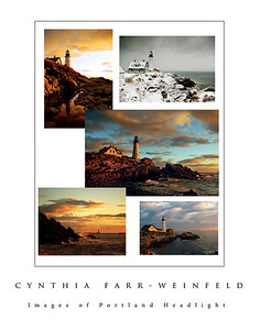 Images of Portland Headlight Poster.
