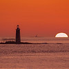 September Sunrise, Ram Island Light, Cape Elizabeth, Maine
