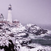 February Nor'easter, Portland Head Light, Cape Elizabeth, Maine 3