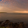 Portland Head Light 180 Degree panorama, taken near sunset.