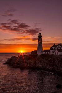 Dawn's Early Light, Portland Head Light, Cape Elizabeth, ME
