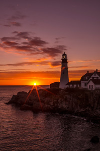 Dawn's Early Light, Portland Head Light, Cape Elizabeth, ME
