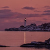 Sunset Beacon, Portland Head Light, Cape Elizabeth, Maine