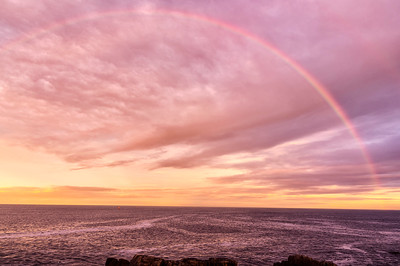 Fort Williams Sunset Rainbow, Cape Elizabeth, Maine
