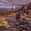 April Skies, Portland Head Light, Cape Elizabeth, Maine
