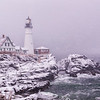 February Nor'easter, Portland Head Light, Cape Elizabeth, Maine 2