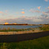 Bug Light, South Portland, Maine.  A 34 image panoramic image, comlete 360 degrees.  Nearing sunset in late August 2008.  Hover cursor over photo to be offered the menu to enlarge and see it in its fuller size.  All panoramas are $100.00, unmatted.  Matted option not available.