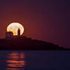 "November 2016 Super ""Super Moon"", Nubble Light, York, Maine 3"