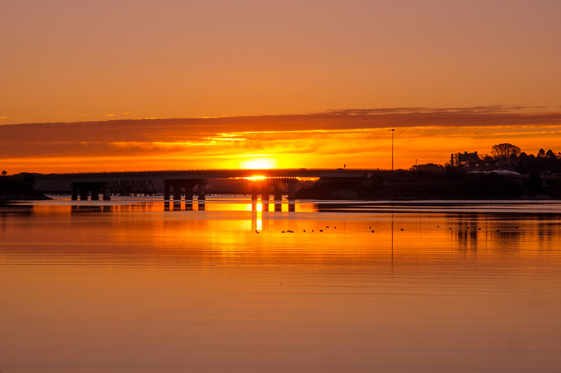 Back Cove Sunrise II, Portland, Maine
