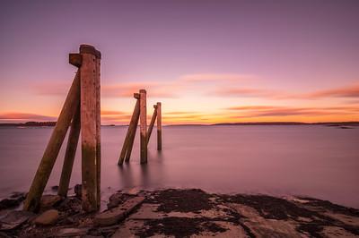 East End Sunset, Portland, Maine