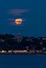 Full Moonrise over Portland Observatory Vertical