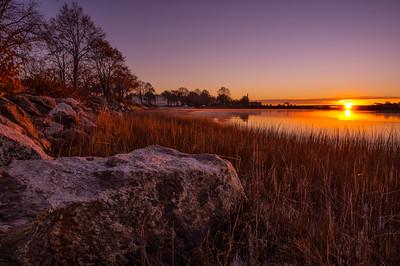 Back Cove Sunrise, Portland, Maine