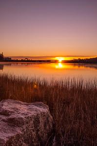 Granite Sunrise, Back Bay, Portland, Maine