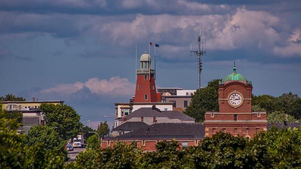 Portland Observatory on Portland, Maine's East End