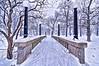 Snowy Bridge, Deering Oaks Park, Portland, Maine