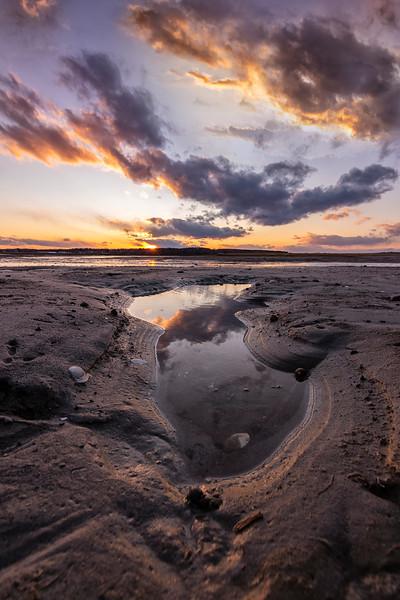 Pine Point Tidepool Sunset