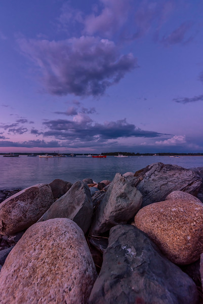 Pine Point Boulders, Scarborough, Maine