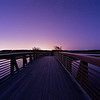 Bridge to the Stars<br /> <br /> I love the leading lines of this bridge, that draw your eye to the starry sky beyond.