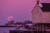 February Full Moon, Willard Beach, South Portland, ME