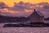 Winter Clouds at Willard Beach, South Portland, Maine